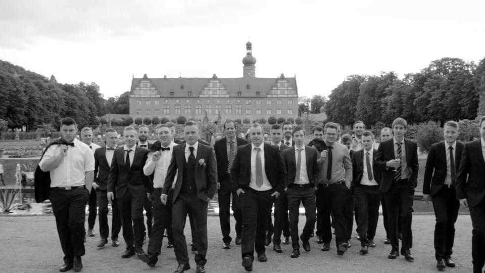 Hochzeitsvideo Schloss Weikersheim | Andrea + Daniel