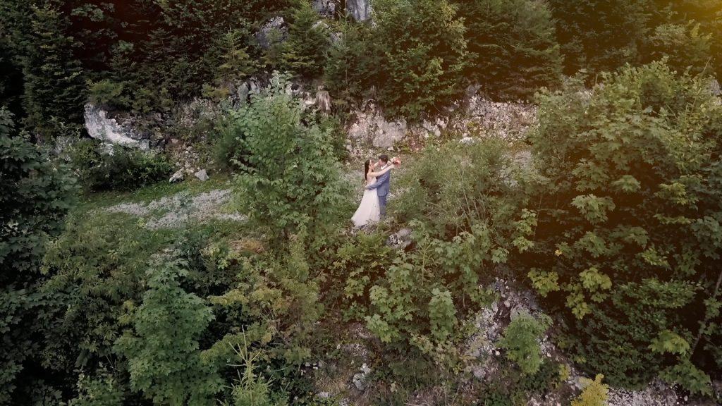 Heiraten in den Bergen | Hochzeitsvideo Feuriger Tatzelwurm