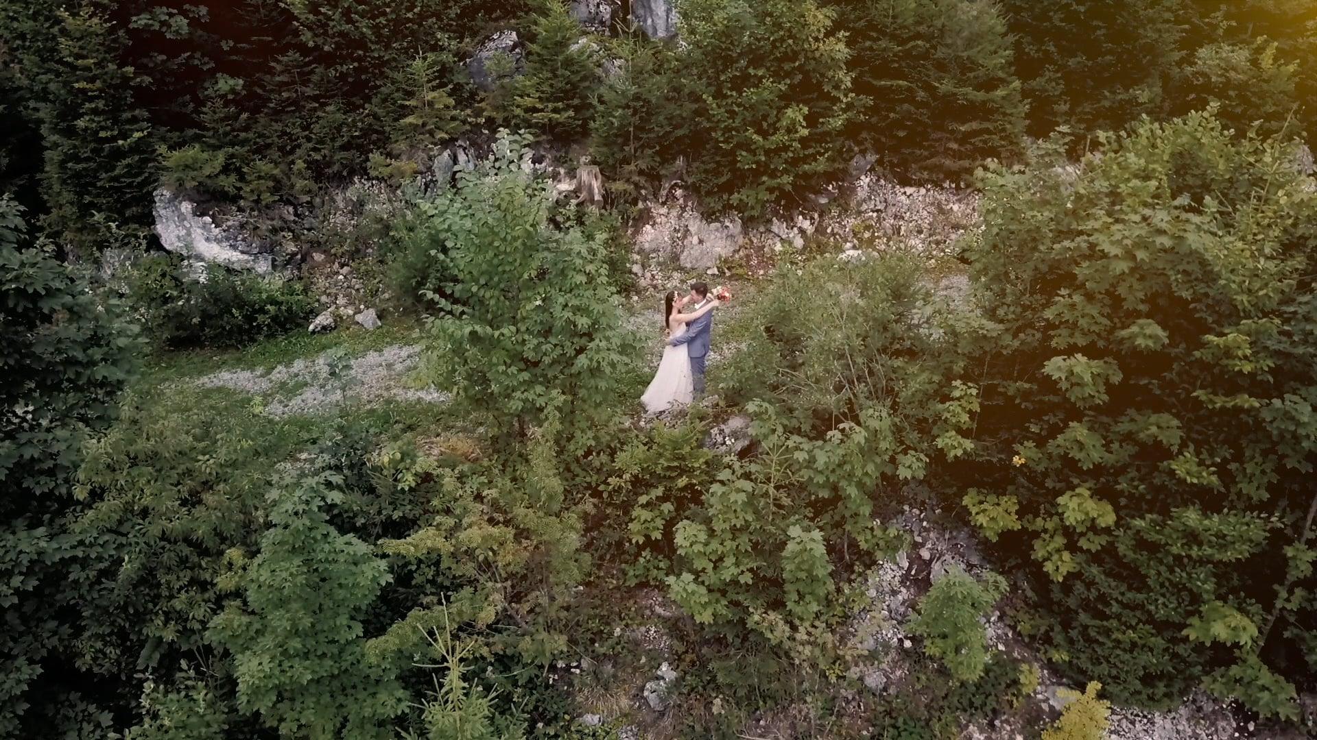 Heiraten in den Bergen   Hochzeitsvideo Feuriger Tatzelwurm