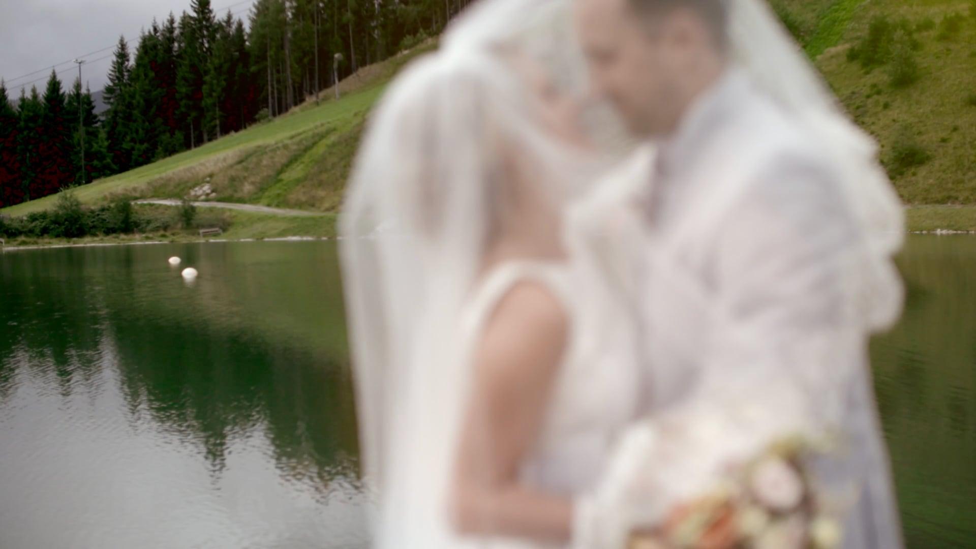 Berghochzeit   Hochzeitsvideo Österreich Sallbach - Hinterglemm